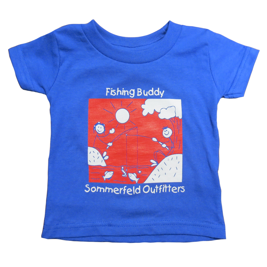 Sommerfeld Outfitters Fishing Buddy Infant T-Shirt