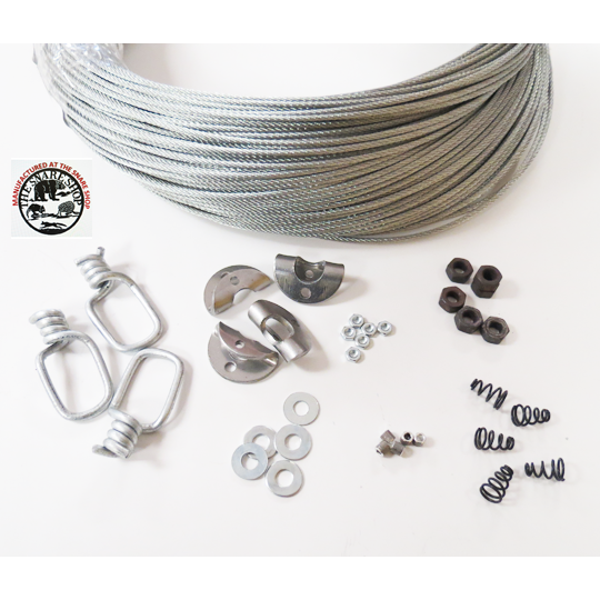 MO & PA SUPER SPECIAL KIT - MAKES 100 LEGAL CABLE RESTRAINTS