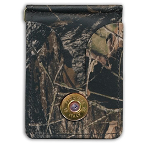 12 Gauge Gold Camo Money Clip