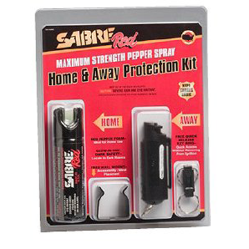 Sabre Home & Away Protection Kit - Pepper Spray & Gel