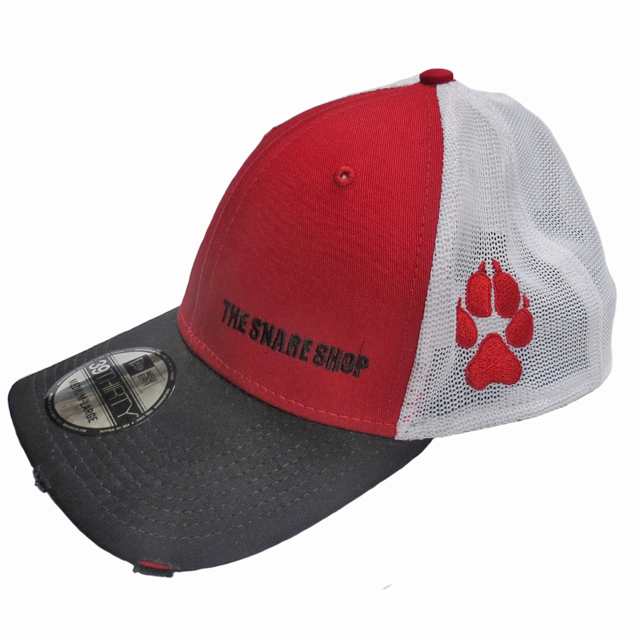 The Snare Shop Cap - Paw Print Embroidery