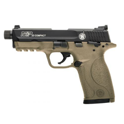 Smith & Wesson® M&P®22 Compact Flat Dark Earth Threaded
