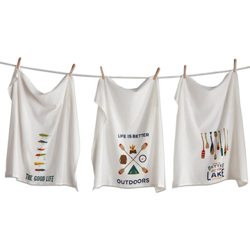 Outdoors Flour Sack Dishtowel