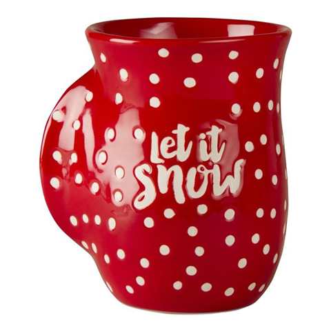 Let It Snow Hand Warmer Mug