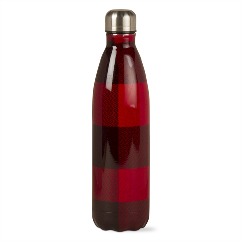 Buffalo Check 25 oz Stainless Bottle