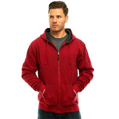 Trailcrest Men's Heather Thermal Lined Cambrillo Full Zip Hoodie