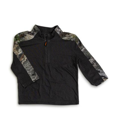 Trailcrest Mossy Oak Toddlers Impulse 4-Way Stretch 1/4 Zip
