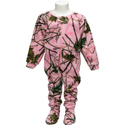 Trailcrest Infant Pink Camo Comfy Crawler