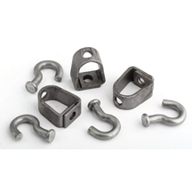 Heavy Duty Universal Swivels With J-Hooks