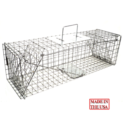 TOMAHAWK LIVE TRAP - DOUBLE DOOR - MODEL 105.5