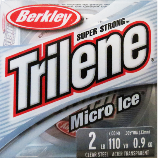 Berkley Trilene Micro Ice Fishing Line  - 110 Yd