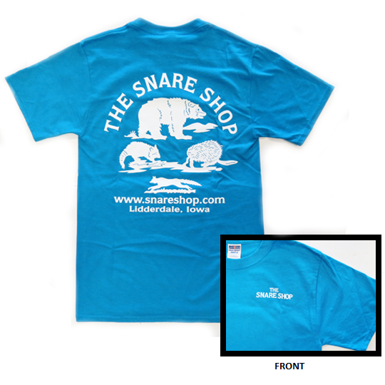 SNARE SHOP T-SHIRT - CALIFORNIA BLUE
