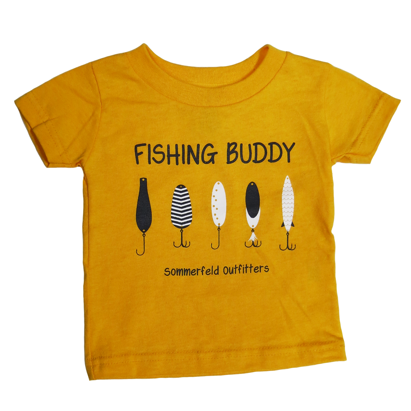 Sommerfeld Outfitters Fishing Buddy Gold Shirt