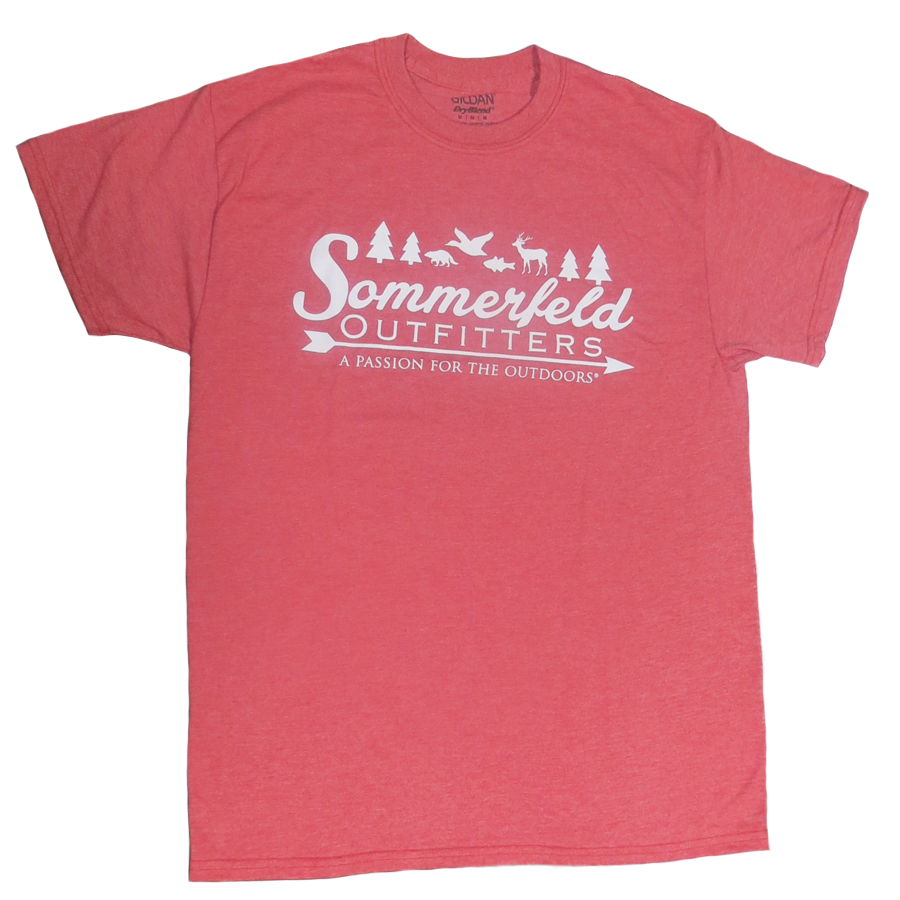 Sommerfeld Outfitters Heather Red T-Shirt