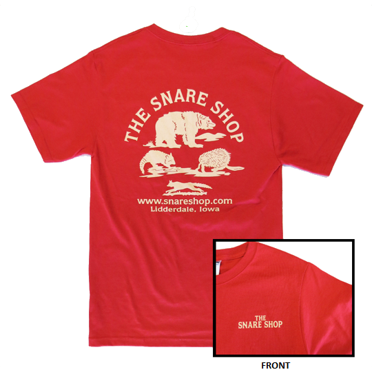 SNARE SHOP T-SHIRT - RED