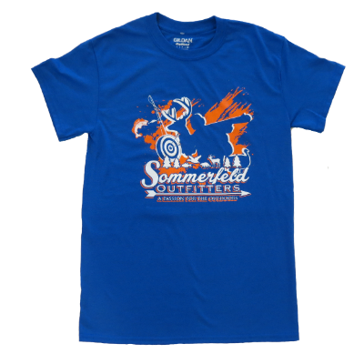 SOMMERFELD OUTFITTERS YOUTH T-SHIRT - ROYAL BLUE