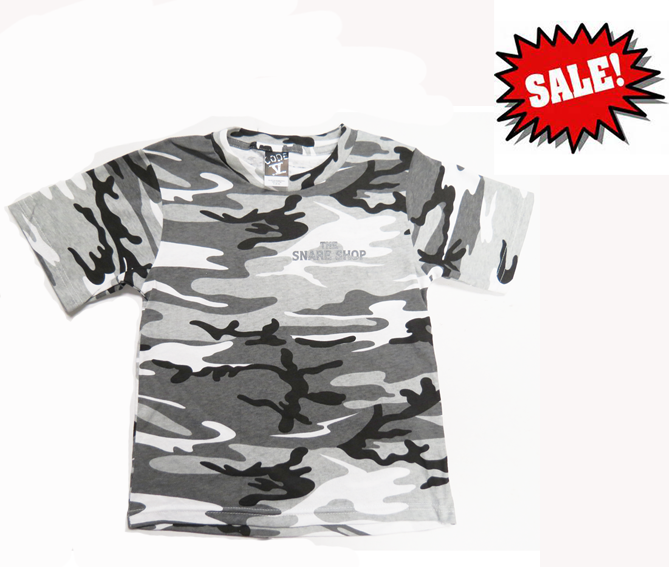 YOUTH CAMO T-SHIRT - URBAN WOODLAND PRINT