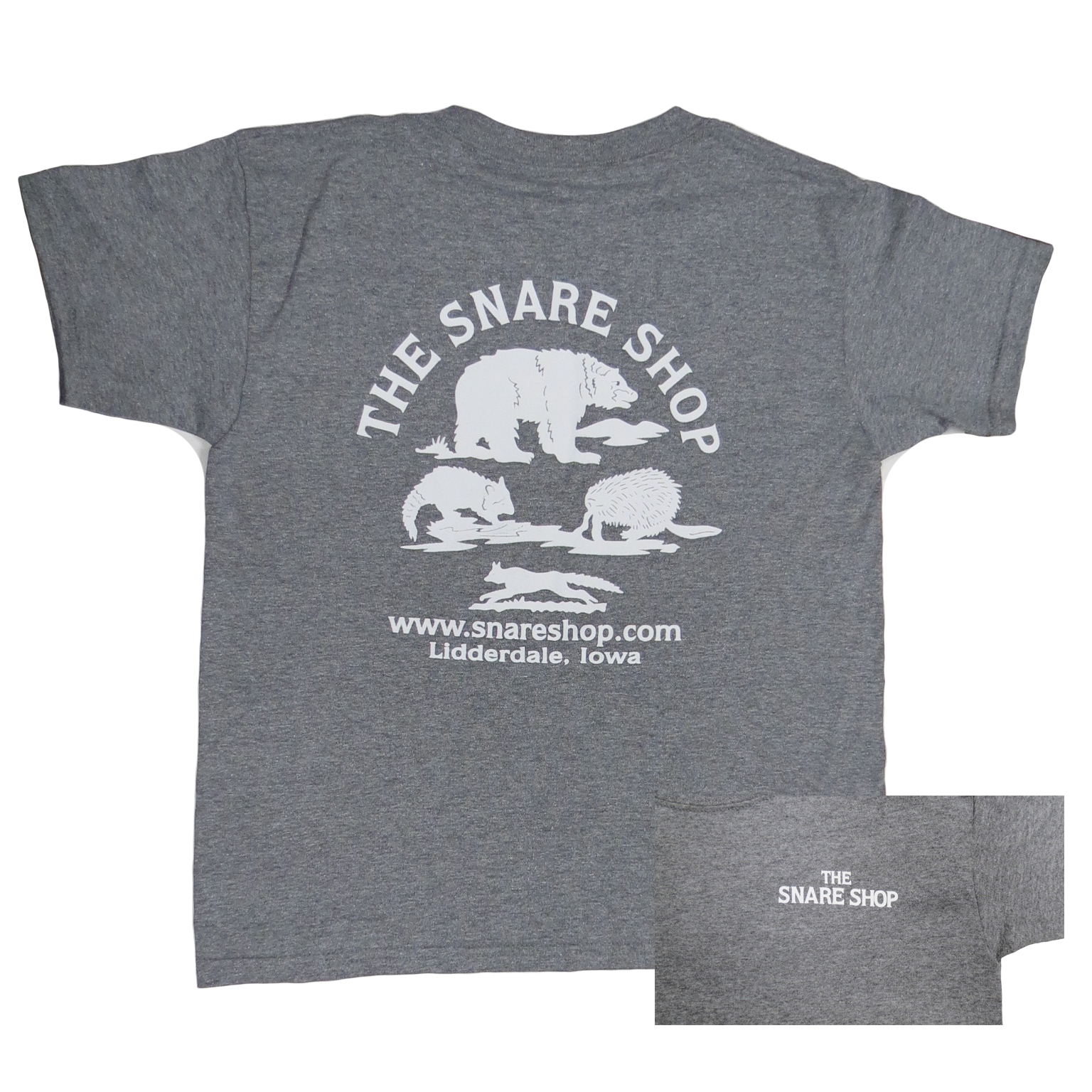 Snare Shop Youth Gray T-Shirt