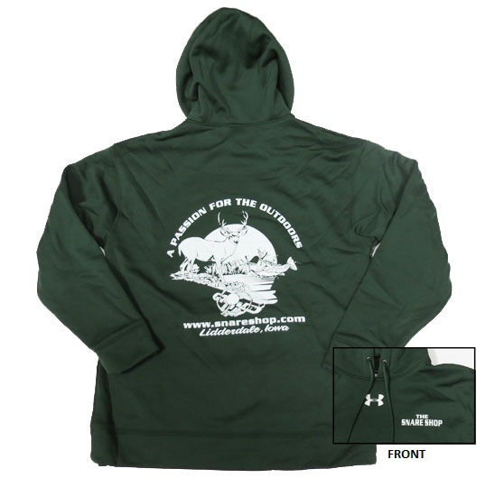Snare Shop Under Armour Forest Green Hoodie