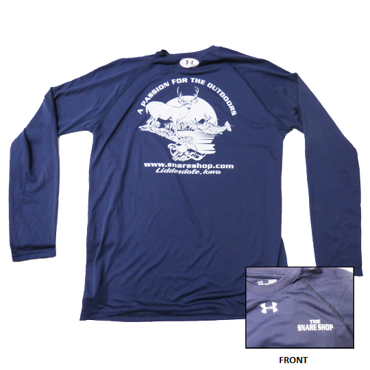 SNARE SHOP UNDER ARMOUR NAVY LONG SLEEVE