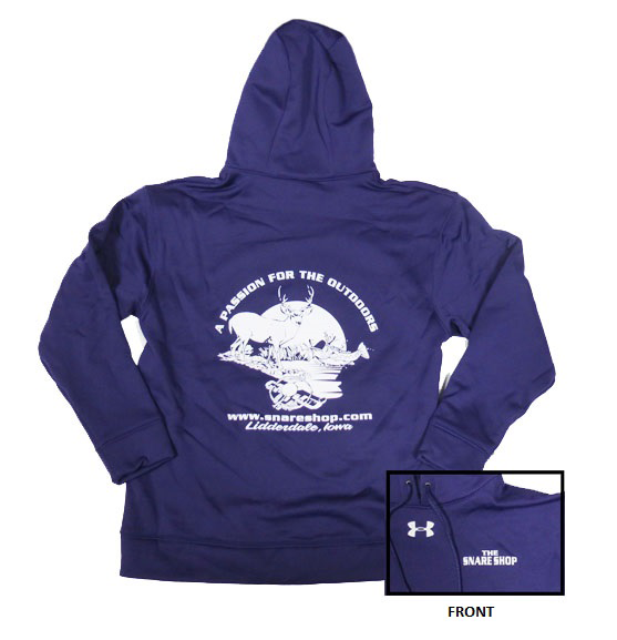 Snare Shop Under Armour Purple Fleece Team Hoodie