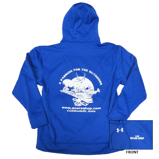 Snare Shop Under Armour Royal Fleece Team Hoodie