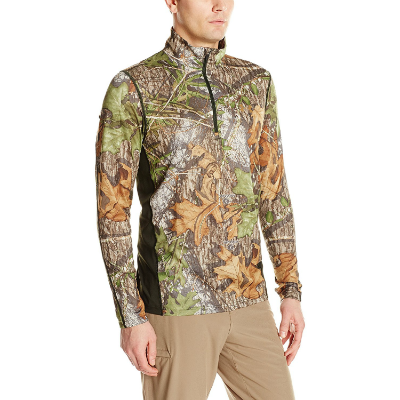 Under Armour Tech Scent Control 1/4 Zip - Mossy Oak Obession