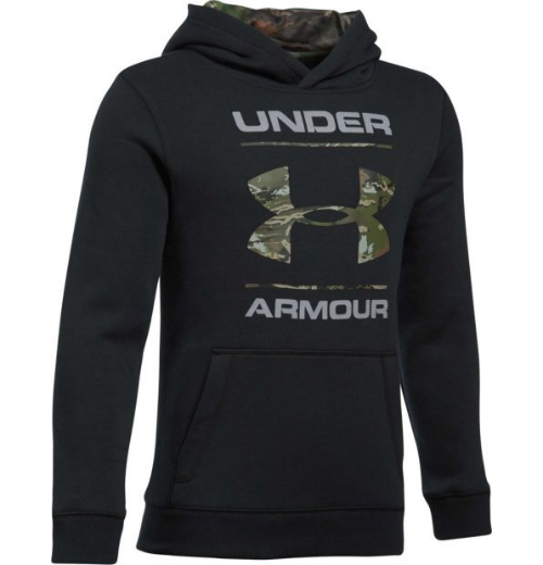 Under Armour Youth Rival Camo Fill Hoodie