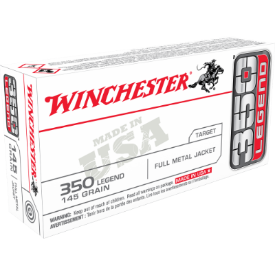 Winchester 350 Legend 145 Grain Full Metal Jacket