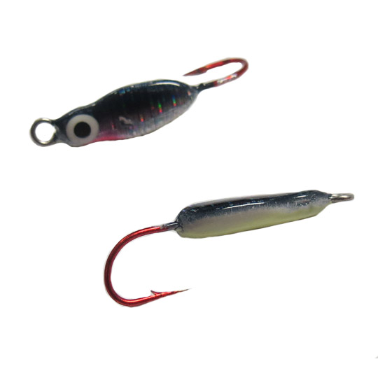 vertiglo demon jigs, demon jigs, ice fishing jigs, vertiglo