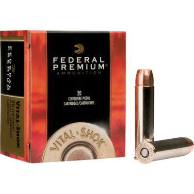 Federal Premium Vital Shok  500 S&W 325Gr Swift A-Frame