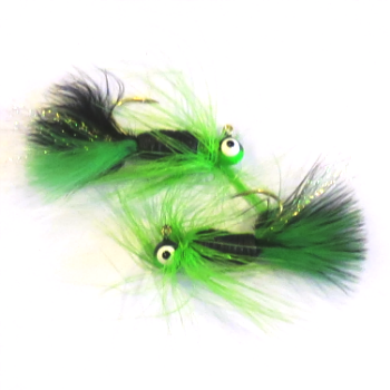 Wahoo Grub Fry Jig 1/8 oz #1 Sickle Hook
