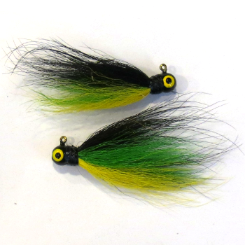 Wahoo Natural Bucktail Jigs 1/8 oz #1 Hook