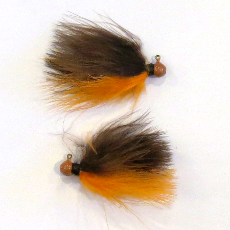 Wahoo Panfish Marabou Jig 1/80 oz #10 Hook