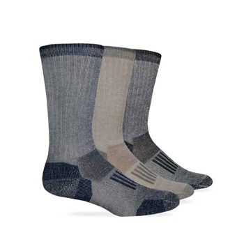 Wise Blend Mens Everyday Crew Sock