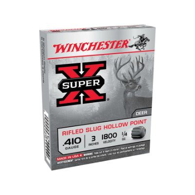 Winchester Super-X Rifled HP Slug .410 - 3