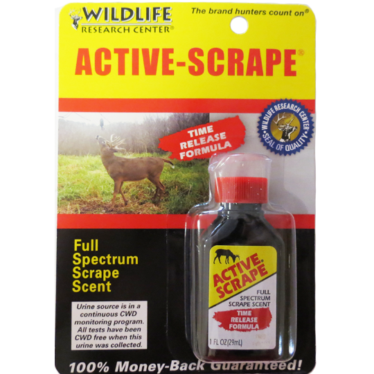 ACTIVE SCRAPE - WILDLIFE RESEARCH CENTER