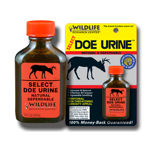 Select Doe Urine - Wildlife Research Center