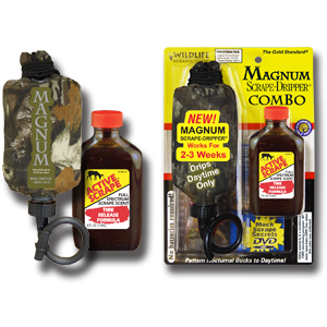MAGNUM SCRAPE-DRIPPER® COMBO - WILDLIFE RESEARCH CENTER®