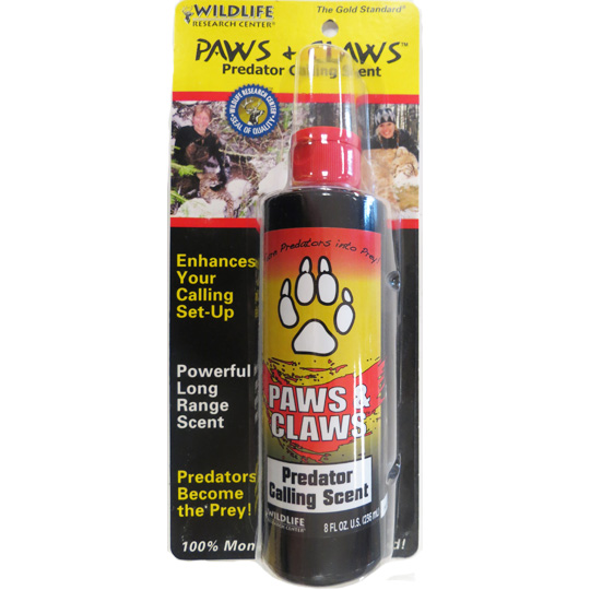 PAWS & CLAWS - WILDLIFE RESEARCH CENTER - 8 FL OZ