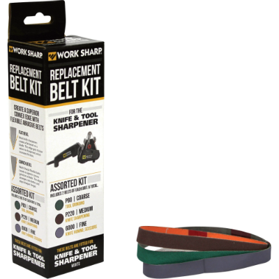 Work Sharp Assorted Belt Kit - OUT OF STOCK