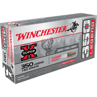 Winchester Super-X .350 Legend 180 Gr Power Point
