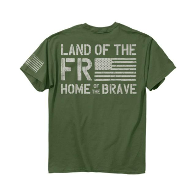 Buck Wear Freedom Flag T-Shirt