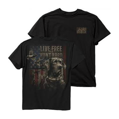 Buck Wear Live Free Hunt Hard Duck T-Shirt