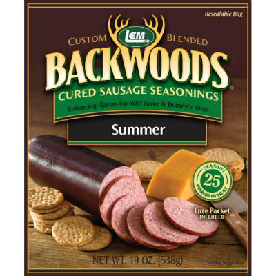 LEM Backwoods Summer Sausage - 25 lbs